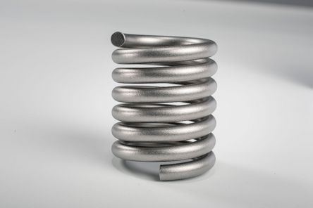 Torsion spring with precise section ends
